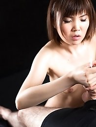 Karen Kosaka Cum Covered Handjob