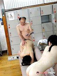 Jun and Asakura get rammed hard